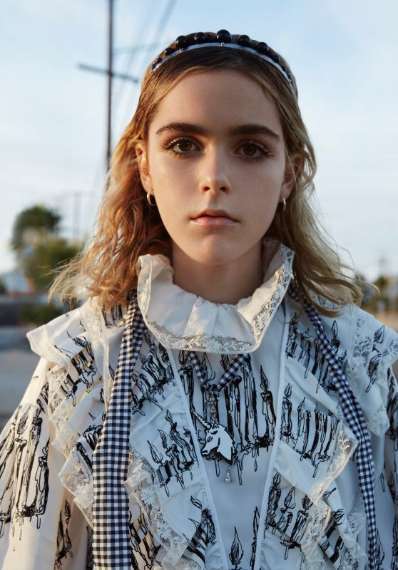 Kiernan Shipka - Photo Shoot for Dazed Digital 2016