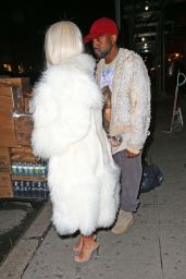 Kim Kardashian - at Negril Restaurant in New York City, February 2016