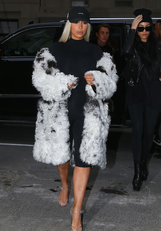 Kim Kardashian - Out in New York City, NY 2/12/2016
