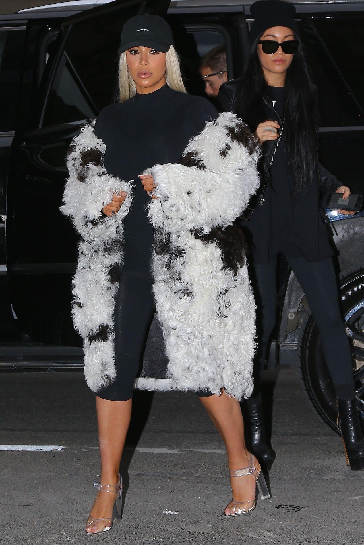 Kim Kardashian Out In New York City Ny 2122016