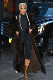 Kim Kardashian Style - Out in New York City, NY 2/13/2016