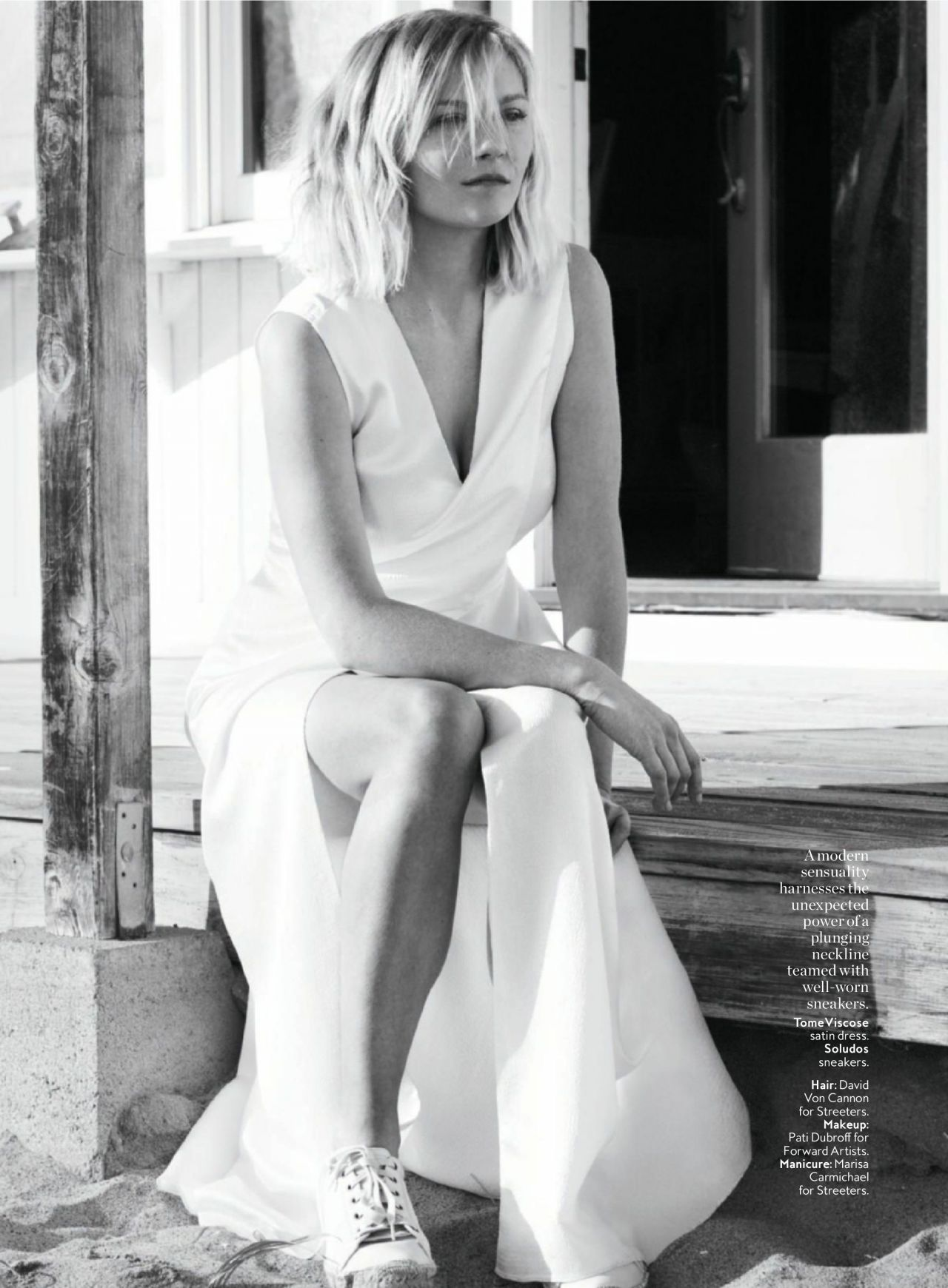 Kirsten Dunst - InStyle Magazine US March 2016 Issue