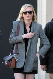 Kirsten Dunst Street Fashion - Shopping in Beverly Hills 2/3/2016