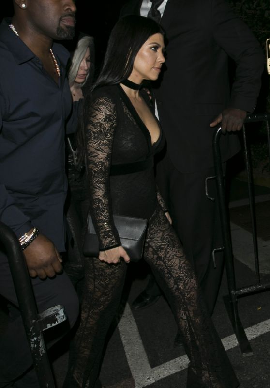 Kourtney Kardashian - 1OAK Nightclub in West Hollywood, CA 2/16/2016
