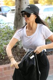 Kourtney Kardashian Street Style - Out in Los Angeles, CA 2/23/2016