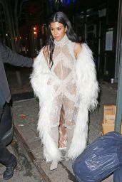 Kourtney Kardashian Style - at Negril Village Restaurant in New York City, February 2016