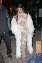 Kourtney Kardashian Style - at Negril Village Restaurant in New York City, February 2016