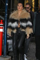 Kourtney Kardashian Style - Out in New York City, NY 2/10/2016
