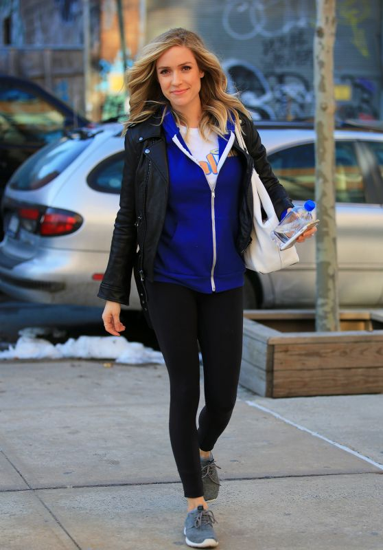 Kristin Cavallari in Tights - Out in NYC 2/2/2016