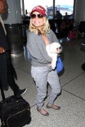 Kristin Chenoweth at LAX Airport, Febraury 2016