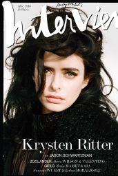 Krysten Ritter - Interview Magazine Germany March 2016 Cover
