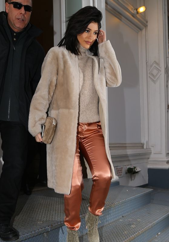 Kylie Jenner Fashion - Out in New York City, NY 2/10/2016