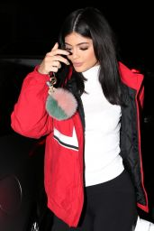 Kylie Jenner Night Out in Los Angeles, CA, February 2016