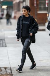 Kylie Jenner Street Style - Out in New York City, February 2016