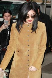 Kylie Jenner Style - Leaving Her Hotel in New York City, NY 2/9/2016
