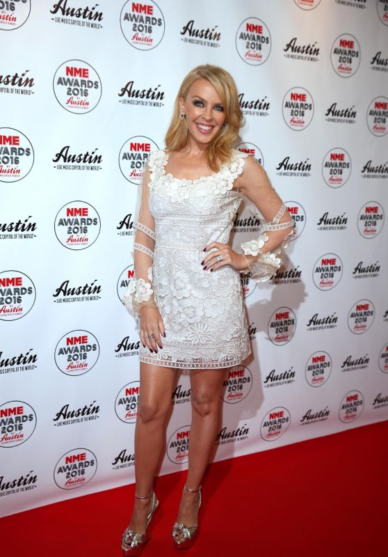 Kylie Minogue - 2016 NME Music Awards in London