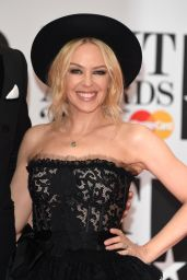 Kylie Minogue - BRIT Awards 2016 at O2 Arena in London, UK
