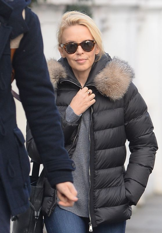 Kylie Minogue Street Style - London 2/18/2016