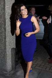 Kym Marsh - Arriving at The Late Late Show in Dublin, 1/30/2016