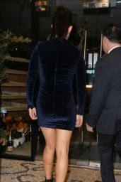 Kym Marsh Night Out Style - San Carlo Restaurant in Manchester 1/30/2016
