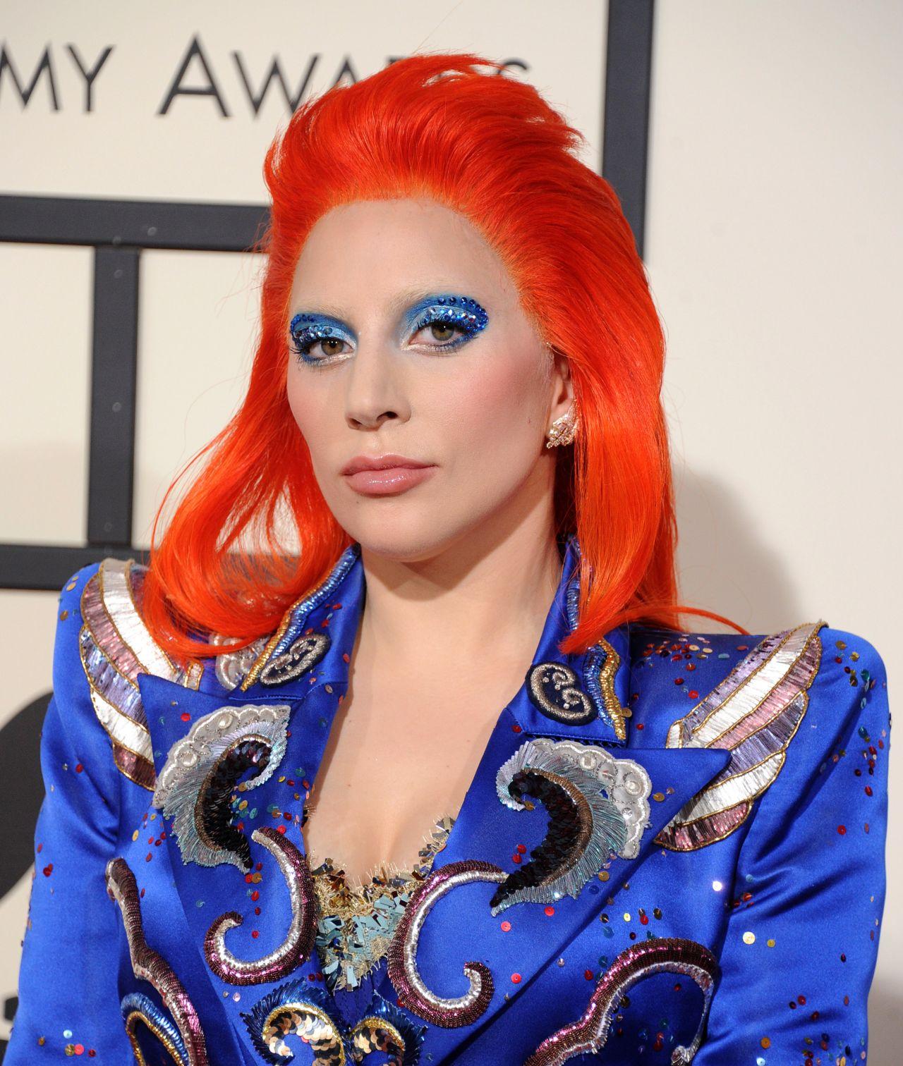 Lady Gaga 2016 Grammy Awards In Los Angeles Ca
