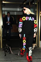 Lady Gaga - Leaving Her Apartment in New York City 2/19/2016