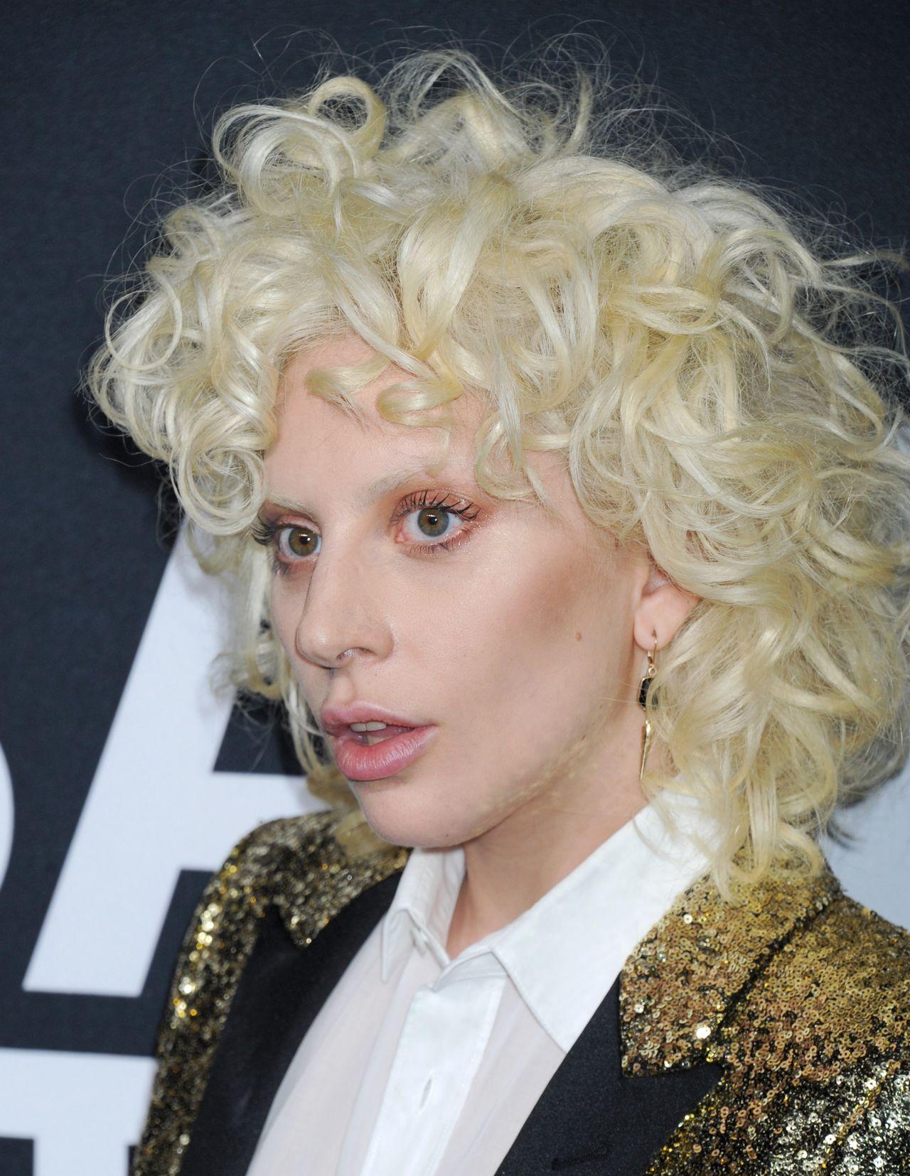 Lady Gaga – Saint Laurent Show at The Palladium in Los ...
