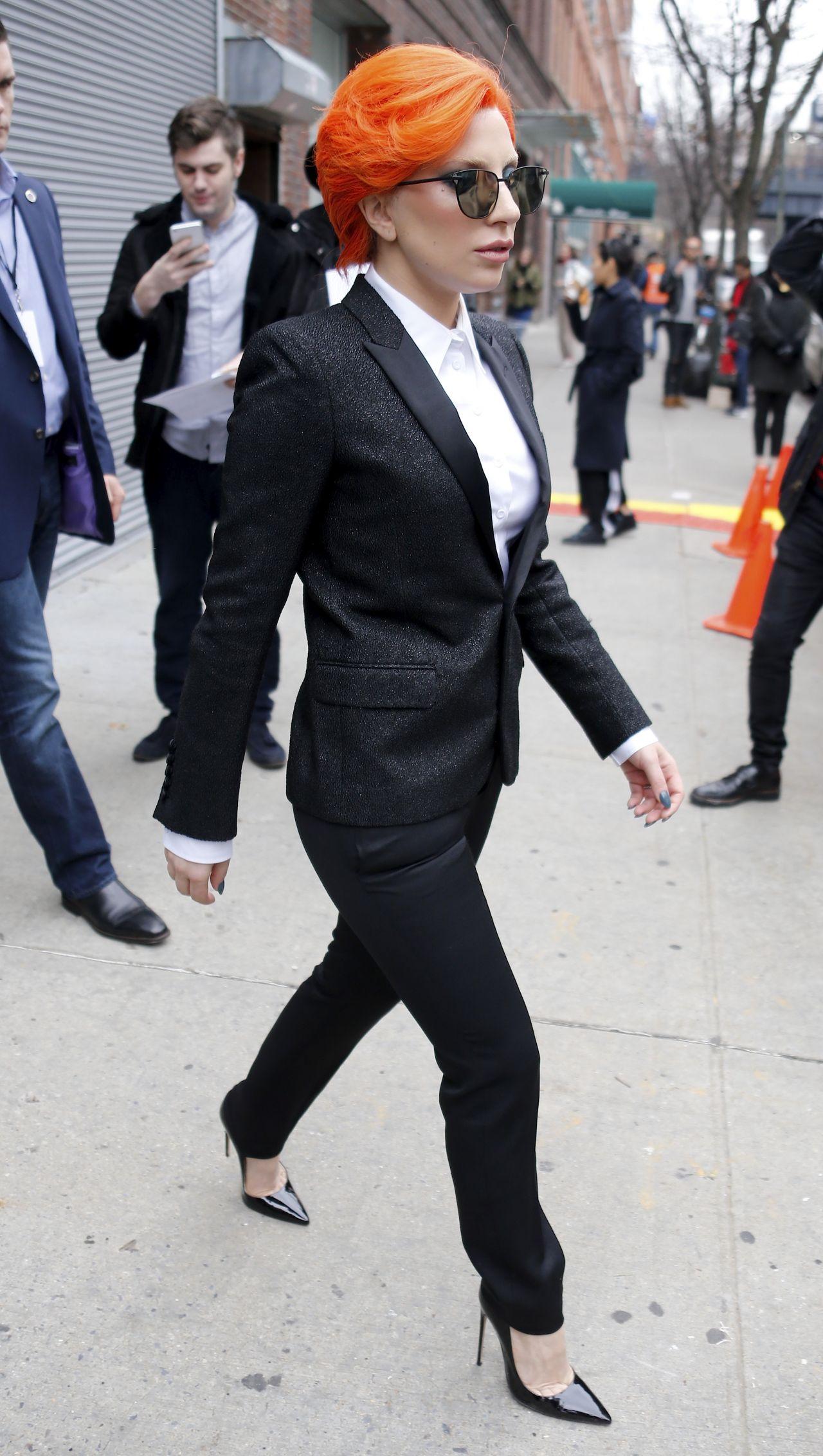Lady Gaga Style Nicopanda Show New York Fashion Week 2 17 2016