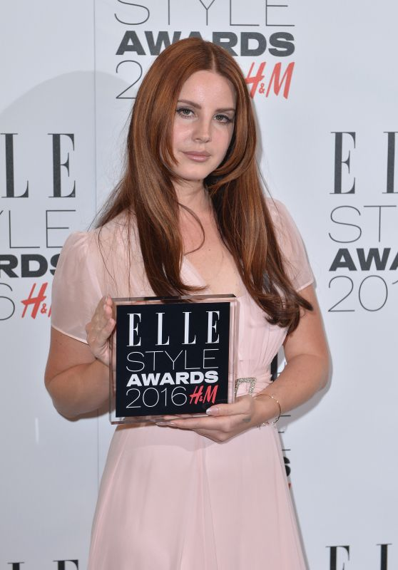 Lana Del Rey – Elle Style Awards 2016 in London