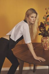 Lara Stone - Photo Shoot for Vogue Magazine Korea March 2016