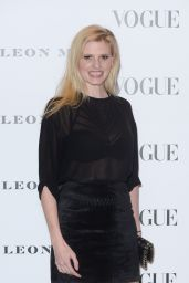 Lara Stone – 'Vogue 100 – A Century of Style' in London, February 9, 2016