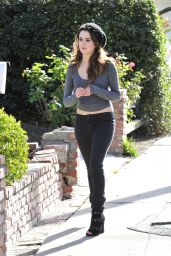 Laura Marano Getting Her Mail in Los Angeles 2/15/2016