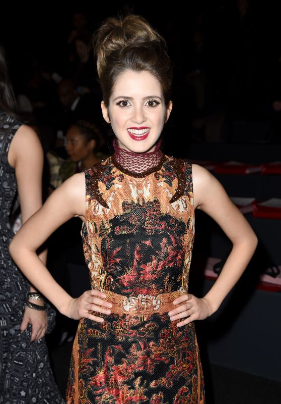 Laura Marano - Vivienne Tam Fall 2016 Fashion Show in New York City, NY 2/15/2016