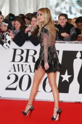 Laura Whitmore - BRIT Awards 2016 - O2 Arena in London, UK