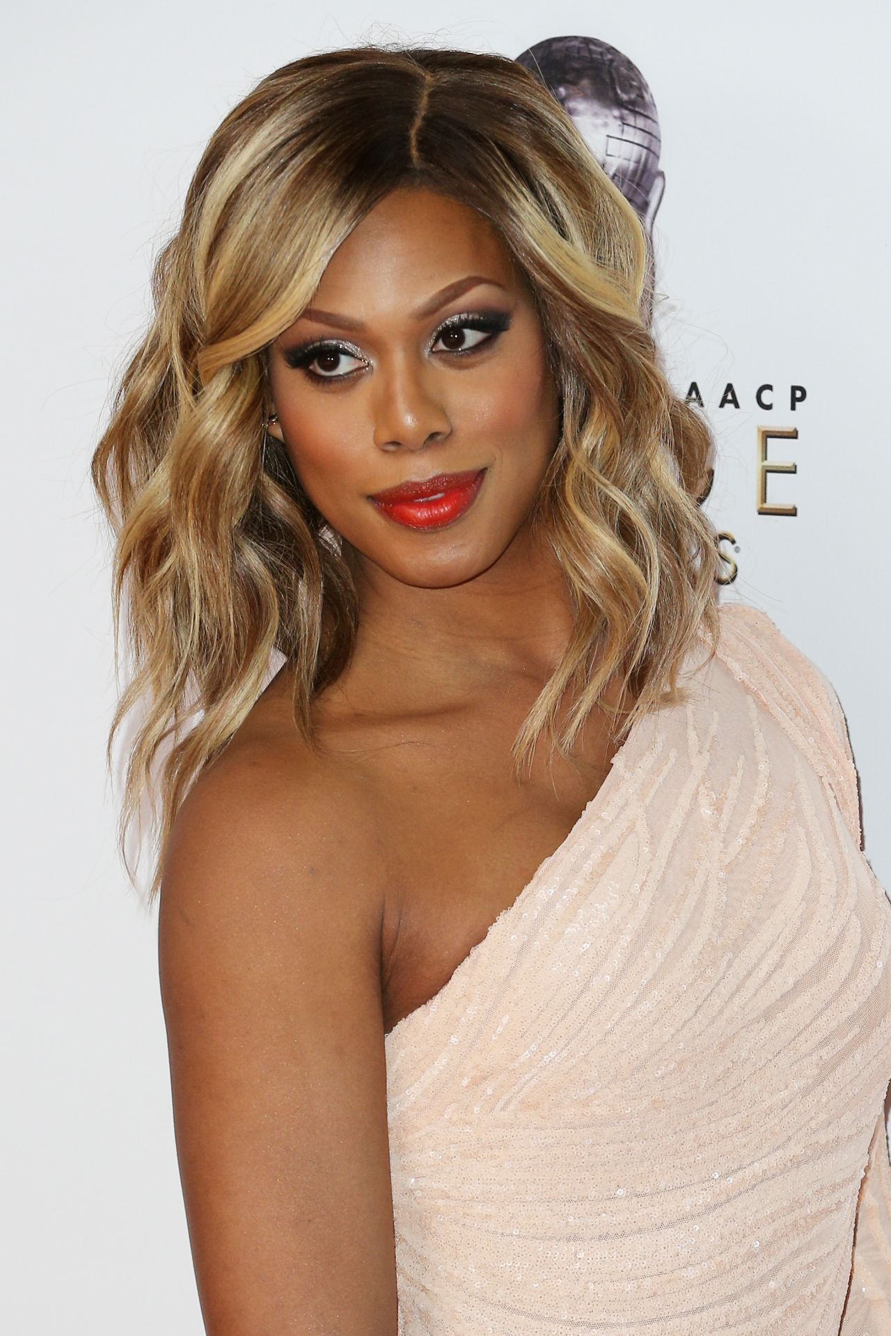 Laverne Cox Naacp Image Awards 2016 Presented By Tv One In Pasadena Ca