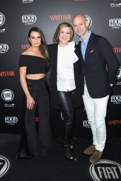 Lea Michele – Vanity Fair and FIAT Young Hollywood Celebration in Los Angeles, 2/23/2016