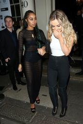 Leigh-Anne Pinnock & Perrie Edwards Night Out - London, UK 2/24/2016