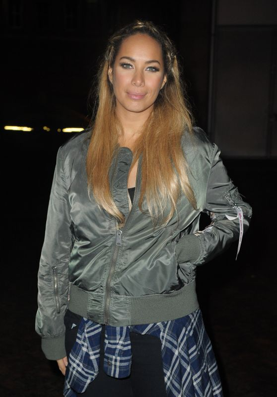 Leona Lewis - Outside Bridgewater Hall in Manchester, UK February 2016