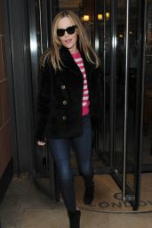 Leslie Mann - Out in London, UK 2/9/2016