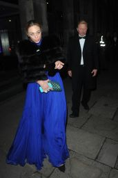 Lilly Becker and Boris Becker - Leaves the Princess Trust Dinner Gala in London 2/4/2016
