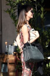 Lily Aldridge Casual Style - Out in Los Angeles 2/8/2016