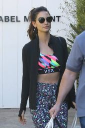 Lily Aldridge - Shopping in Los Angeles, CA 2/24/2016