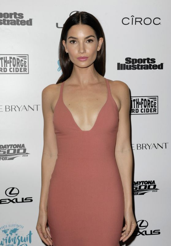 Lily Aldridge – SI Swimsuit 2016 – A Night at Sea VIP Boat Cruise in Miami