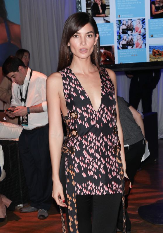 Lily Aldridge – Sports Illustrated Swimsuit 2016 Fan Festival Event in NYC