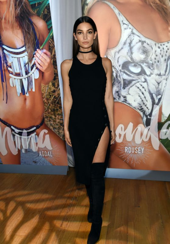 Lily Aldridge – Sports Illustrated Swimsuit 2016 – Swim City in New York City 2/15/2016