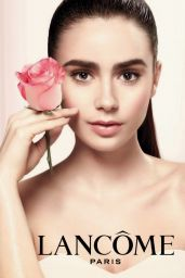 Lily Collins - Lancome Campaign 2016