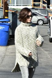 Lily Collins - Out in Los Angeles 2/2/2016