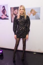Lily Donaldson - Urban Outfitters and Centrefold Magazine LFW Launch Party in London 2/20/2016