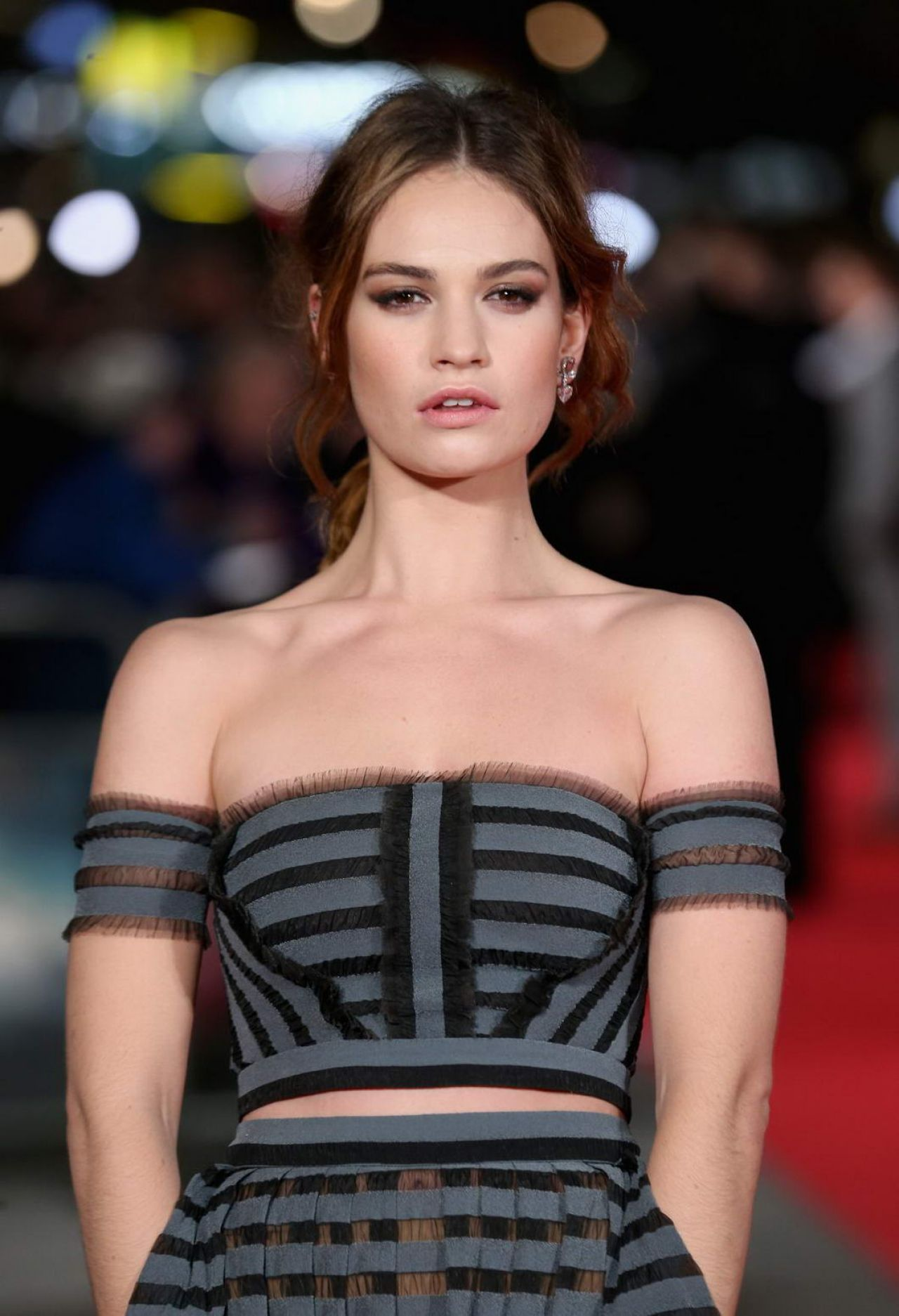 lily james pride amp prejudice amp zombies premiere in london