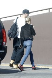 Lily-Rose Depp in Jeans - Out in Los Angeles 2/26/2016